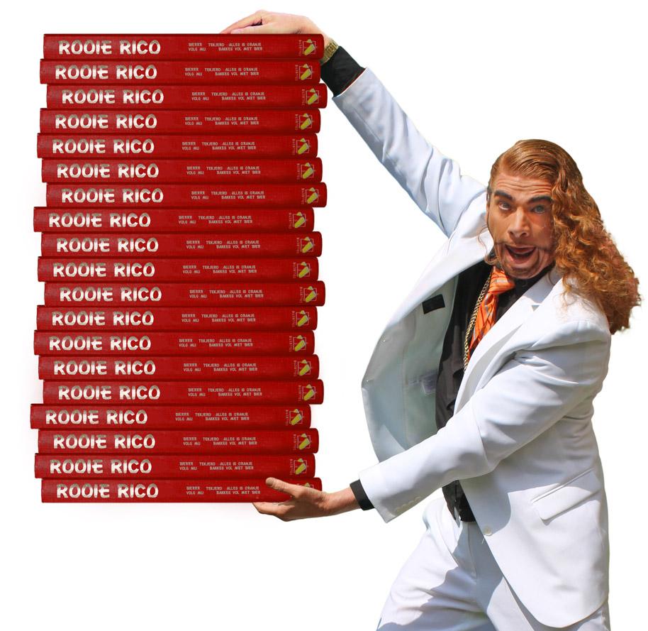 Rooie Rico boeken